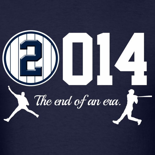 Yankee Jeter Tribute - 2014 End of Era - Mens - Navy