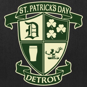 St. Patricks Day Detroit Irish Crest  Bags & backpacks - Tote Bag