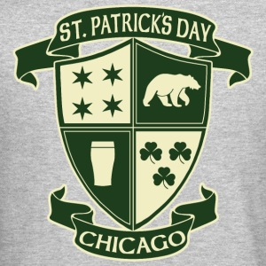 st_patricks_day_chicago_irish_crest_clothing_tees Long Sleeve Shirts - Crewneck Sweatshirt