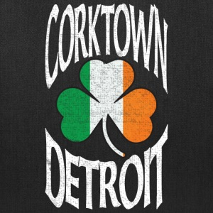 Corktown Detroit Irish Shamrock  Bags & backpacks - Tote Bag