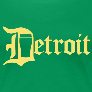 Detroit Pint City Beer Clothing Women's T-Shirts - Women's Premium T-Shirt
