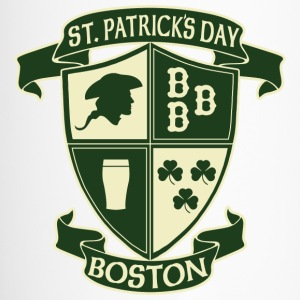 St. Paticks Day Boston Irish Crest  Bottles & Mugs - Travel Mug