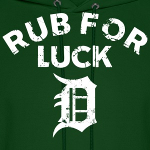 RUB FOR LUCK Hoodies - Men's Hoodie