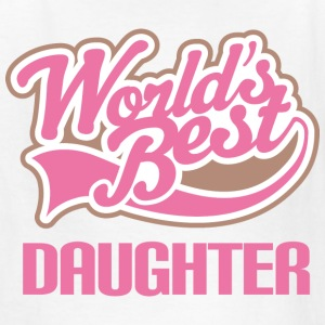 World's Best Daughter Kids' Shirts - Kids' T-Shirt
