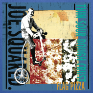 Design ~ flag pizza tote bag