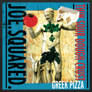 Design ~ greek pizza tote bag
