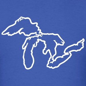 Great Lakes T-Shirts - Men's T-Shirt