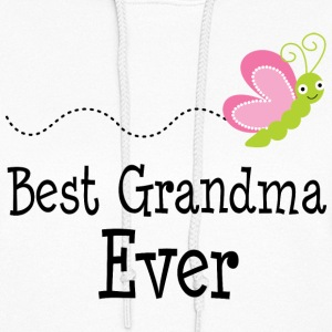 Best Grandma Ever (butterfly) Hoodies - Women's Hoodie