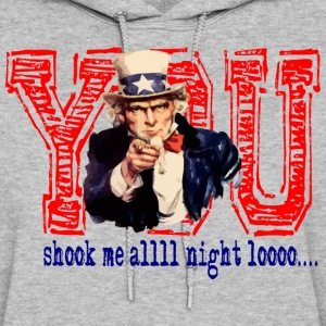 You Shook Me All Night Long Hoodies - Women's Hoodie