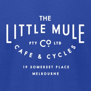 Little Mule Cycle Co & Cafe - American Apparel Tee - Men's T-Shirt by American Apparel