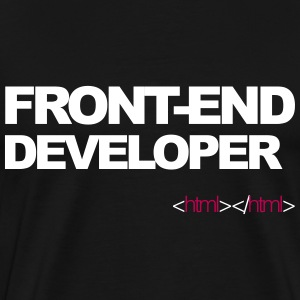 Front end developer shirt - Men's Premium T-Shirt