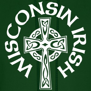 Wisconsin Irish Celtic Cross Apparel Clothing Tee Hoodies - Men's Hoodie