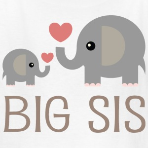 Big Sis Elephants Kids' Shirts - Kids' T-Shirt