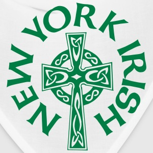 New York Irish Celtic Cross Apparel Clothing Shirt Caps - Bandana