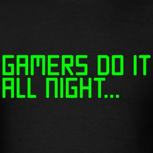 Gamers Do It  T-Shirts - Men's T-Shirt