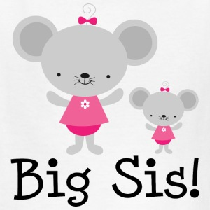 Big Sis Announcement Mouse Kids' Shirts - Kids' T-Shirt