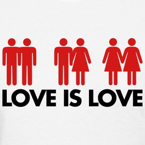 Love Is Love Women's T-Shirts - Women's T-Shirt