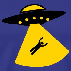 UFO Alien Kidnapping T-Shirts