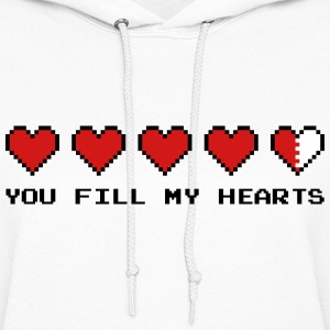 You Fill My Hearts  Hoodies - Women's Hoodie