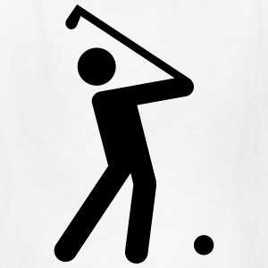 Golf Stickman  Kids' Shirts - Kids' T-Shirt