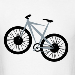 Bicycle Vector - Men's T-Shirt