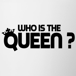 who is the queen Bottles & Mugs - Contrast Coffee Mug