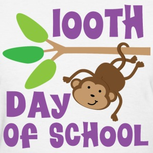 100th Day Of School Monkey Women's T-Shirts - Women's T-Shirt