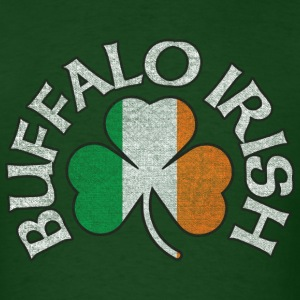 buffalo_irish_shamrock_flag_clothing_apparel T-Shirts - Men's T-Shirt