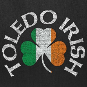 Toledo Irish Shamrock Flag Apparel Bags & backpacks - Tote Bag