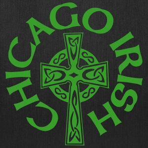 Chicago Irish Celtic Cross Apparel Clothing Shirts Bags & backpacks - Tote Bag