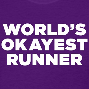 World's Okayest Runner - Women's T-Shirt