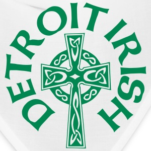Detroit Irish Celtic Cross Clothing Apparel Shirts Caps - Bandana