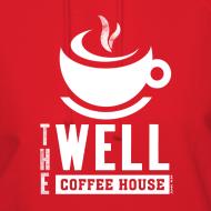 Design ~ Women's Hooded Sweatshirt, White Logo