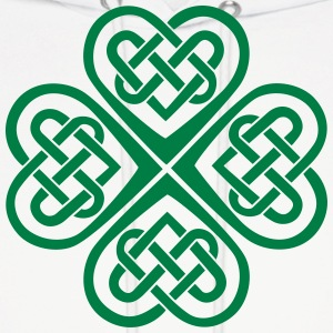 Celtic Heart Eternal Knot St Patricks Day Shamrock Sweatshirts - Molleton à capuche pour hommes