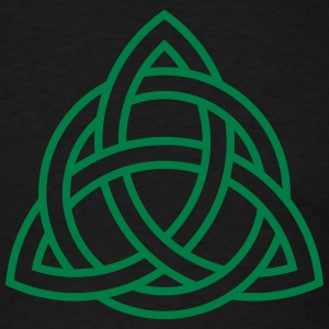 Celtic Knot Triquetra Trinity Irish Patricks Day   T-shirts - T-shirt pour hommes