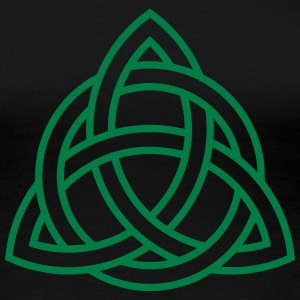 Celtic Knot Triquetra Trinity Irish Patricks Day   Women's T-Shirts - Women's Premium T-Shirt