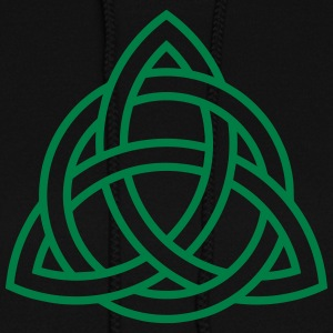 Celtic Knot Triquetra Trinity Irish Patricks Day   Hoodies - Women's Hoodie