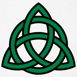 Irish Trinity Knot Triquetra Celtic Patricks Day T-shirts - T-shirt pour hommes