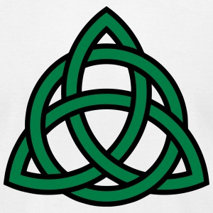 Irish Trinity Knot Triquetra Celtic Patricks Day T-shirts - T-shirt pour hommes American Apparel