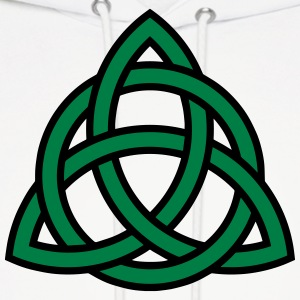 Irish Trinity Knot Triquetra Celtic Patricks Day Hoodies - Men's Hoodie