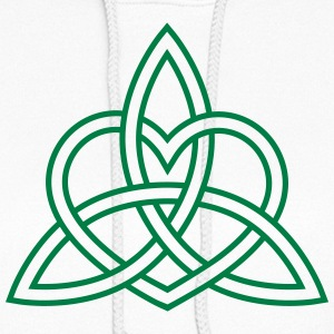 Triquetra Celtic Heart Trinity Eternal Love Knot   Hoodies - Women's Hoodie