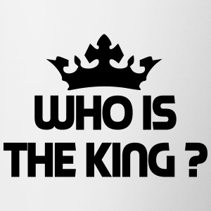 who is the king Bottles & Mugs - Contrast Coffee Mug