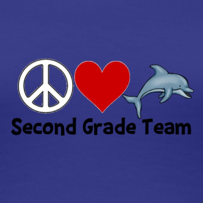 Peace.  Love.  Dolphins. (Second Grade)