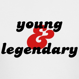 young & legendary Long Sleeve Shirts - Men's Long Sleeve T-Shirt by Next Level