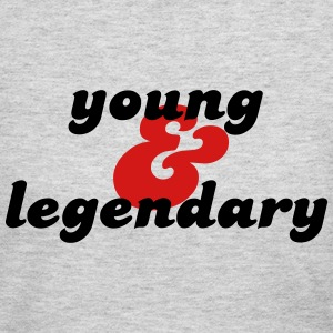 young & legendary Long Sleeve Shirts - Women's Long Sleeve Jersey T-Shirt