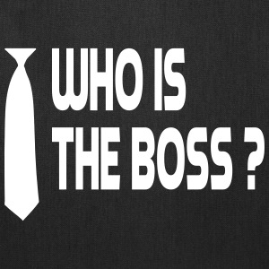 who is the boss Bags & backpacks - Tote Bag
