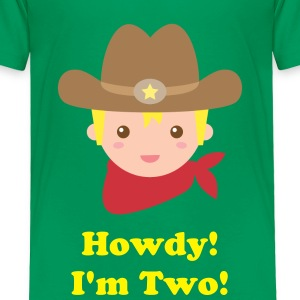 cute little cowboy, sheriff Baby & Toddler Shirts - Toddler Premium T-Shirt