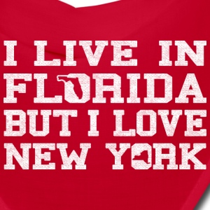 Live Florida Love NewYork clothing apparel Shirt Caps - Bandana