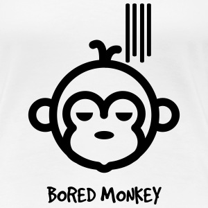 Bored Monkey - Women's Premium T-Shirt