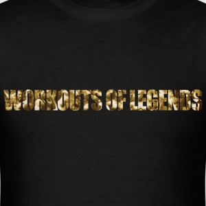 workouts of legends - Men's T-Shirt